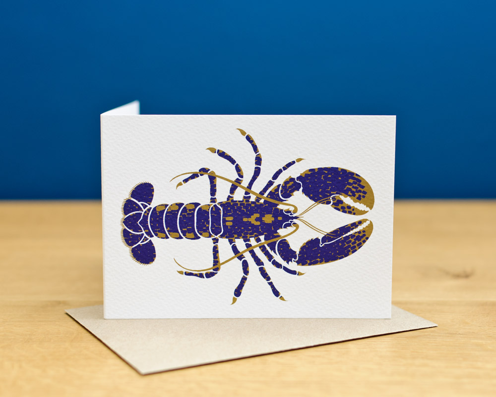 greetingscard_upright_lobster